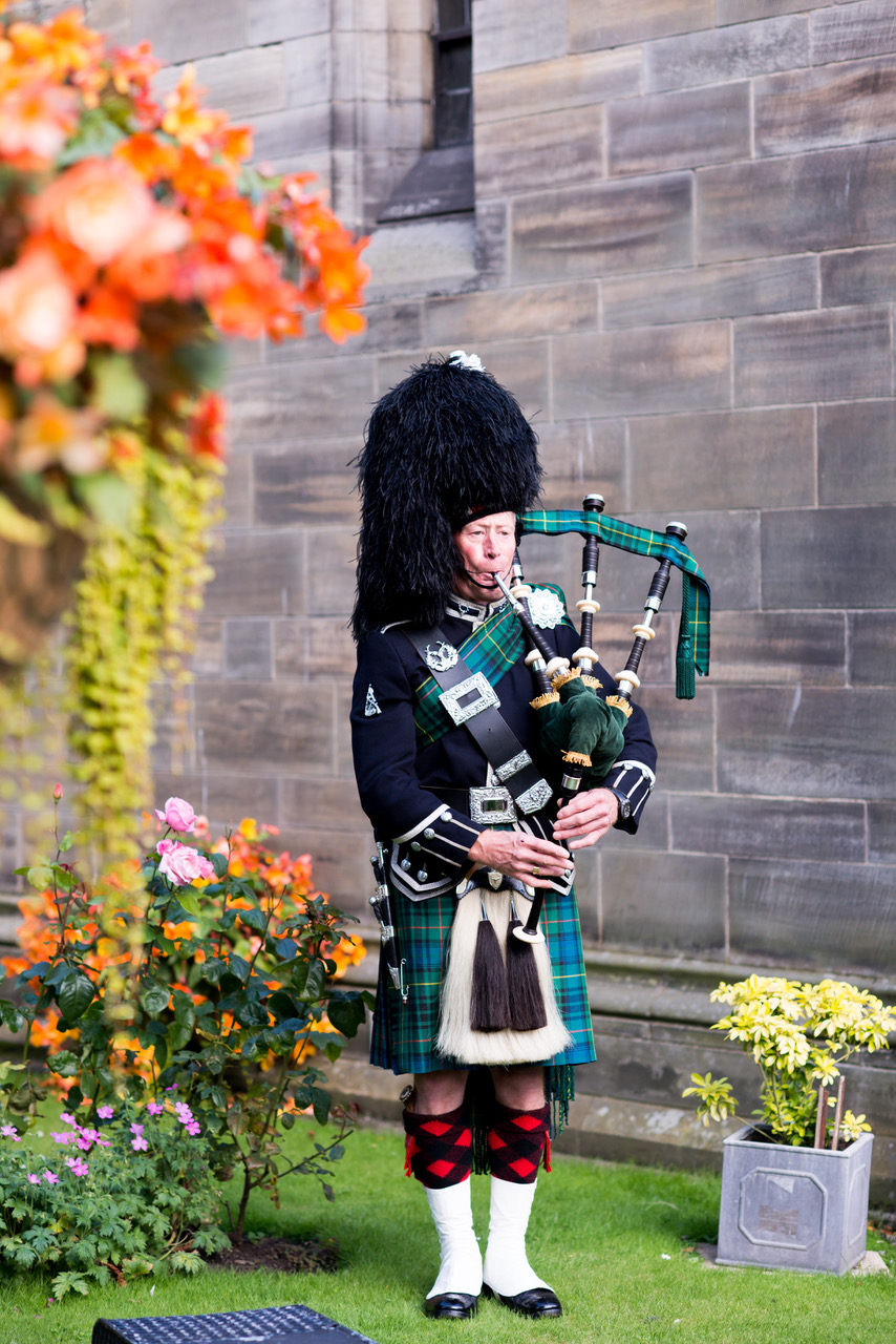 Max Stewart, Scottish Highland Piper